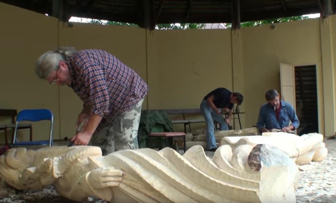 Międzynarodowe plenery rzeźbiarskie w Tuchowie