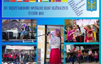 """XIV Międzynarodowe Spotkanie Miast Bliźniaczych pn. """"Europa 3 wymiarów kultury przyszłości: Obywatele-Innowacja-Technologia"""" – 20-23 września 2013 roku"""