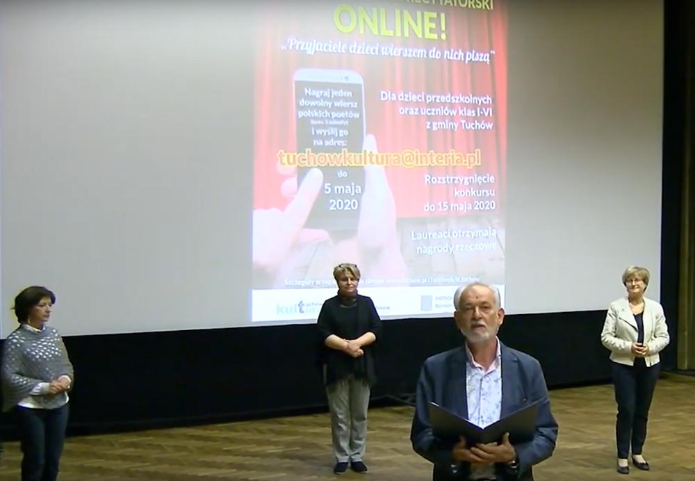 Wyniki Gminnego Konkursu Recytatorskiego Online!