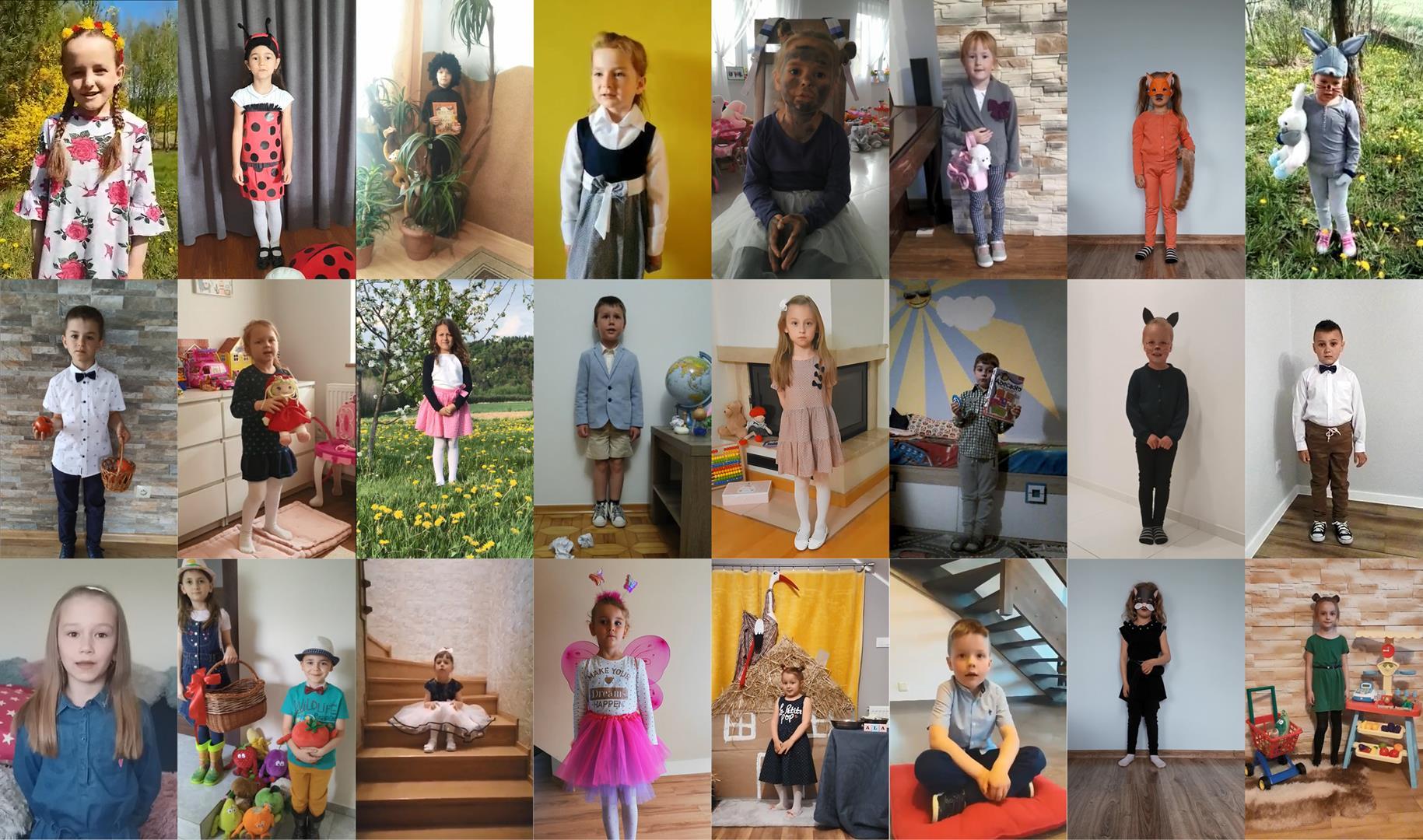 Gminny Konkurs Recytatorski – przedszkolaki recytują