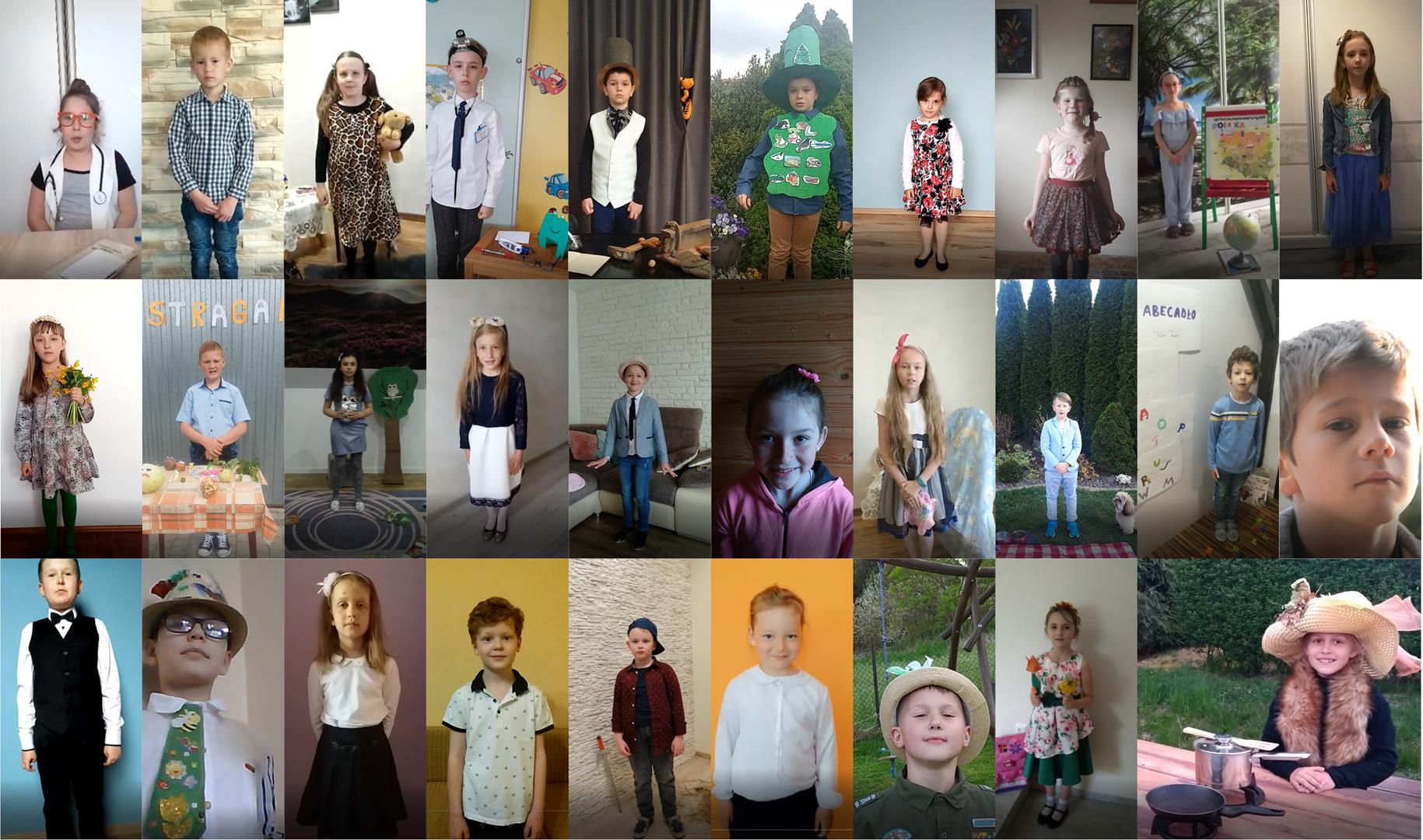 Gminny Konkurs Recytatorski – recytują uczniowie kl. I-III