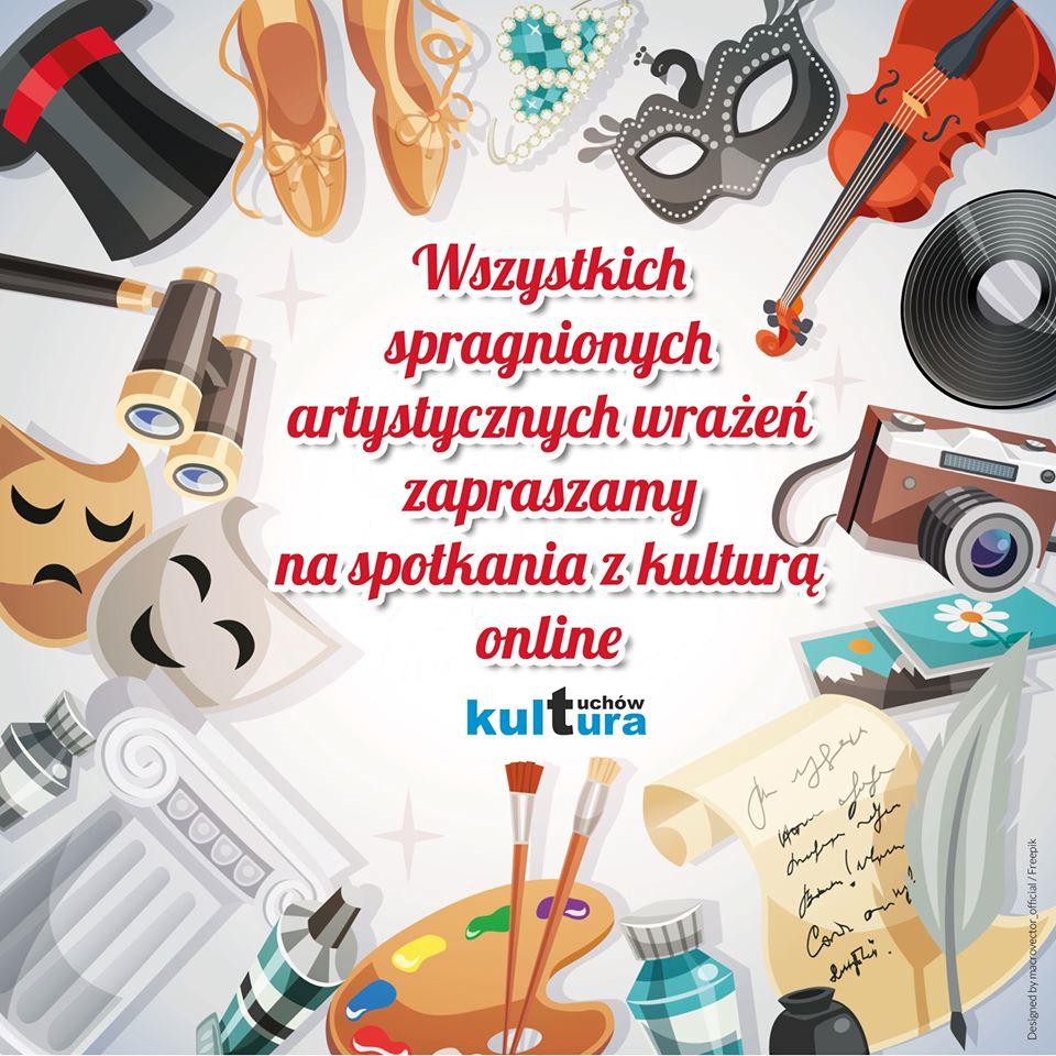 Spotkania z kulturą online!