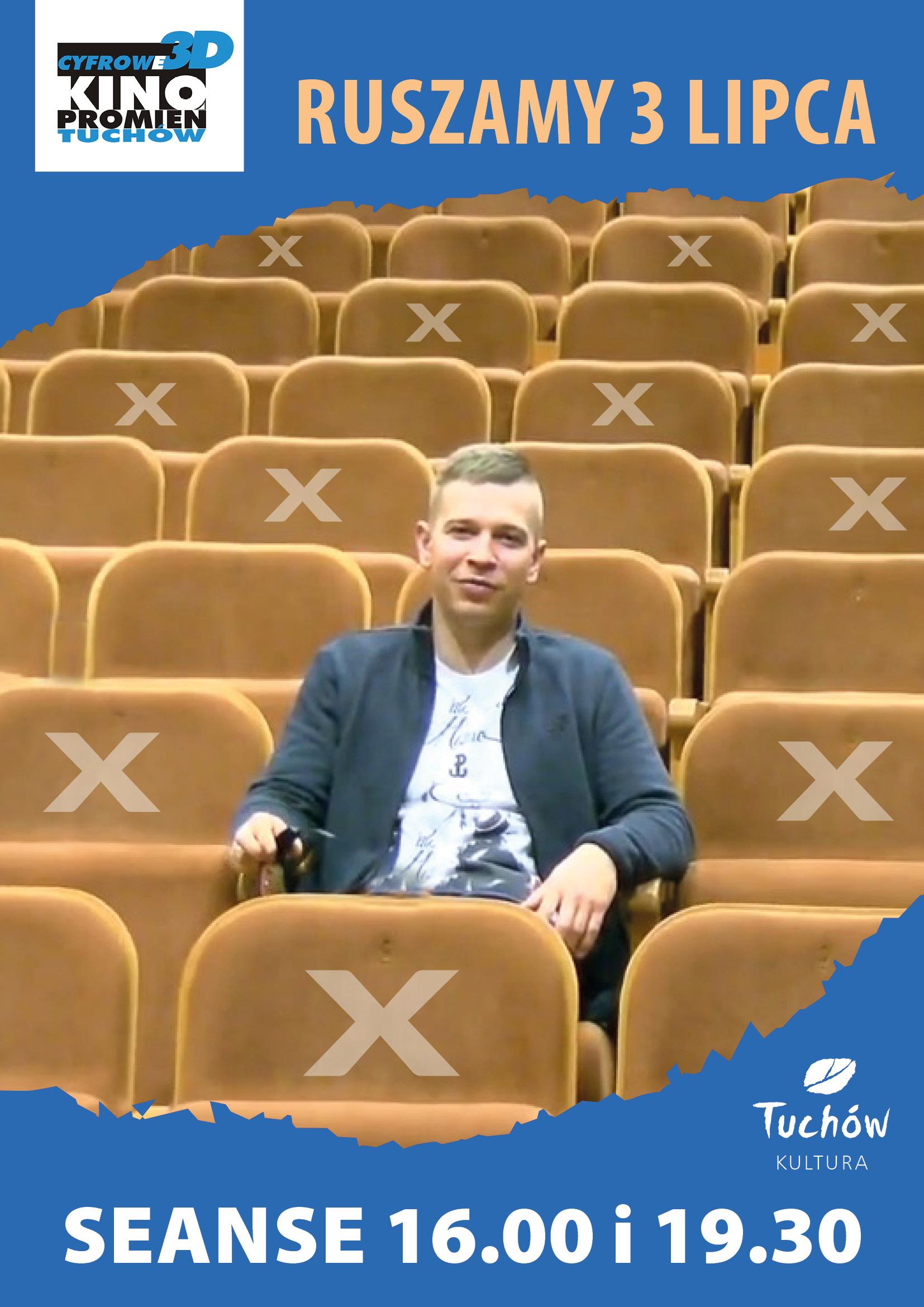 """Kino Cyfrowe 3D """"Promień"""" w Tuchowie zaprasza na seanse filmowe!"""