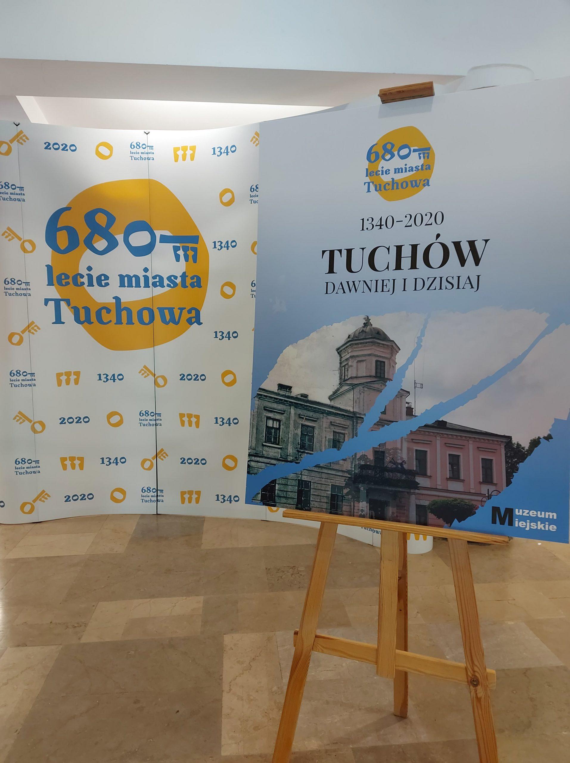 """""""Tuchów dawniej i dzisiaj"""" – wystawa z okazji 680-lecia miasta"""