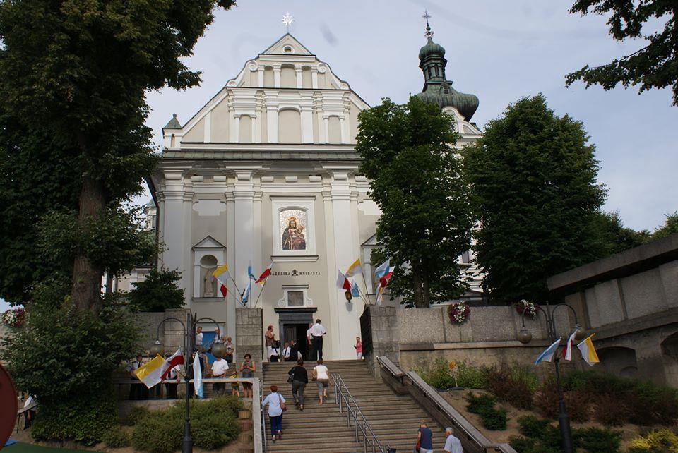 Wirtualna podróż do sanktuarium Matki Bożej Tuchowskiej