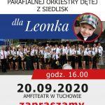 Parafialna Orkiestra Dęta z Siedlisk zagra dla Leonka!