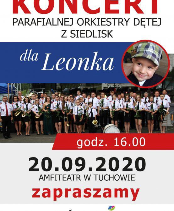 Parafialna Orkiestra Dęta z Siedlisk zagra dla Leonka