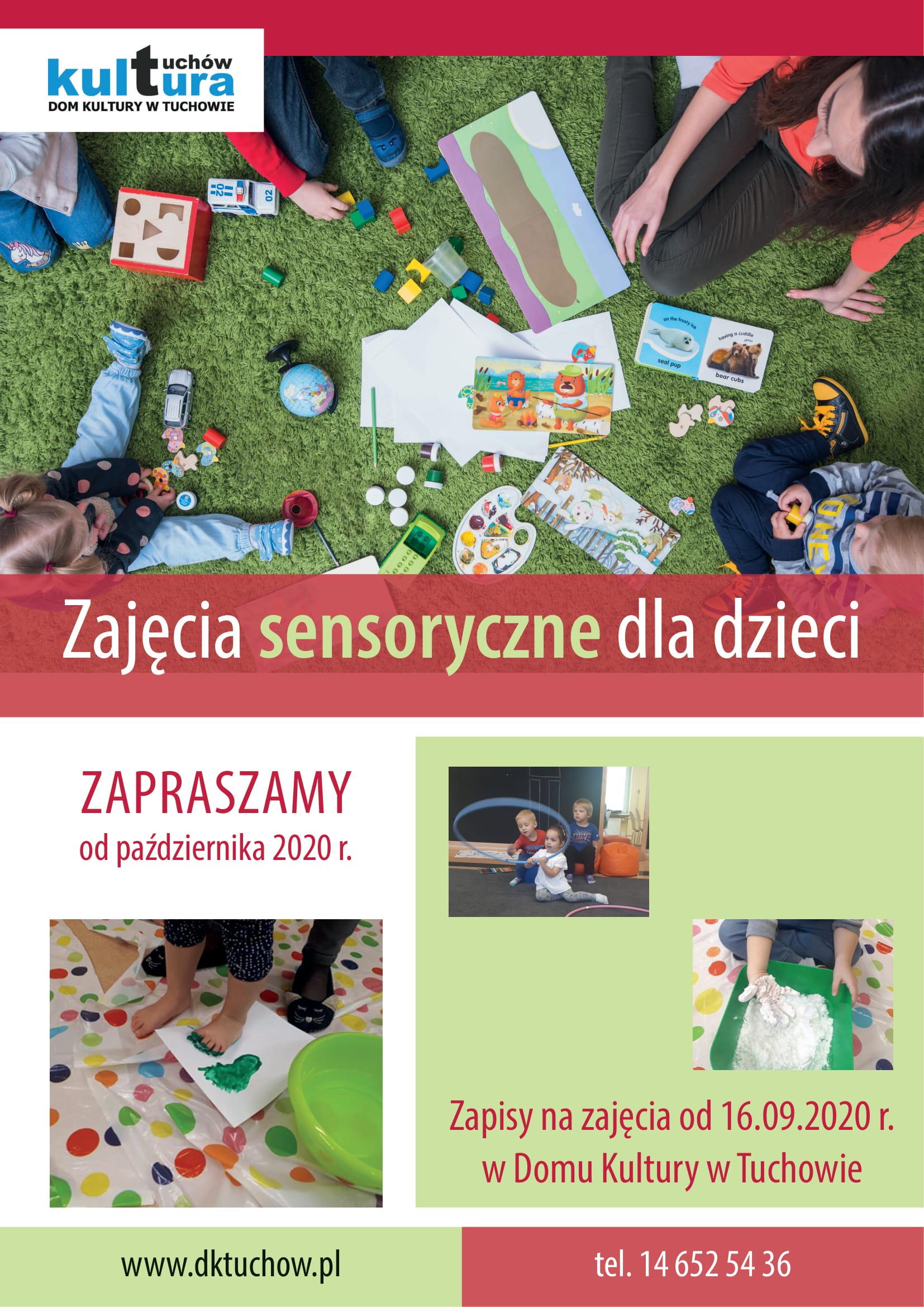 Poznawaj świat na zajęciach sensorycznych!