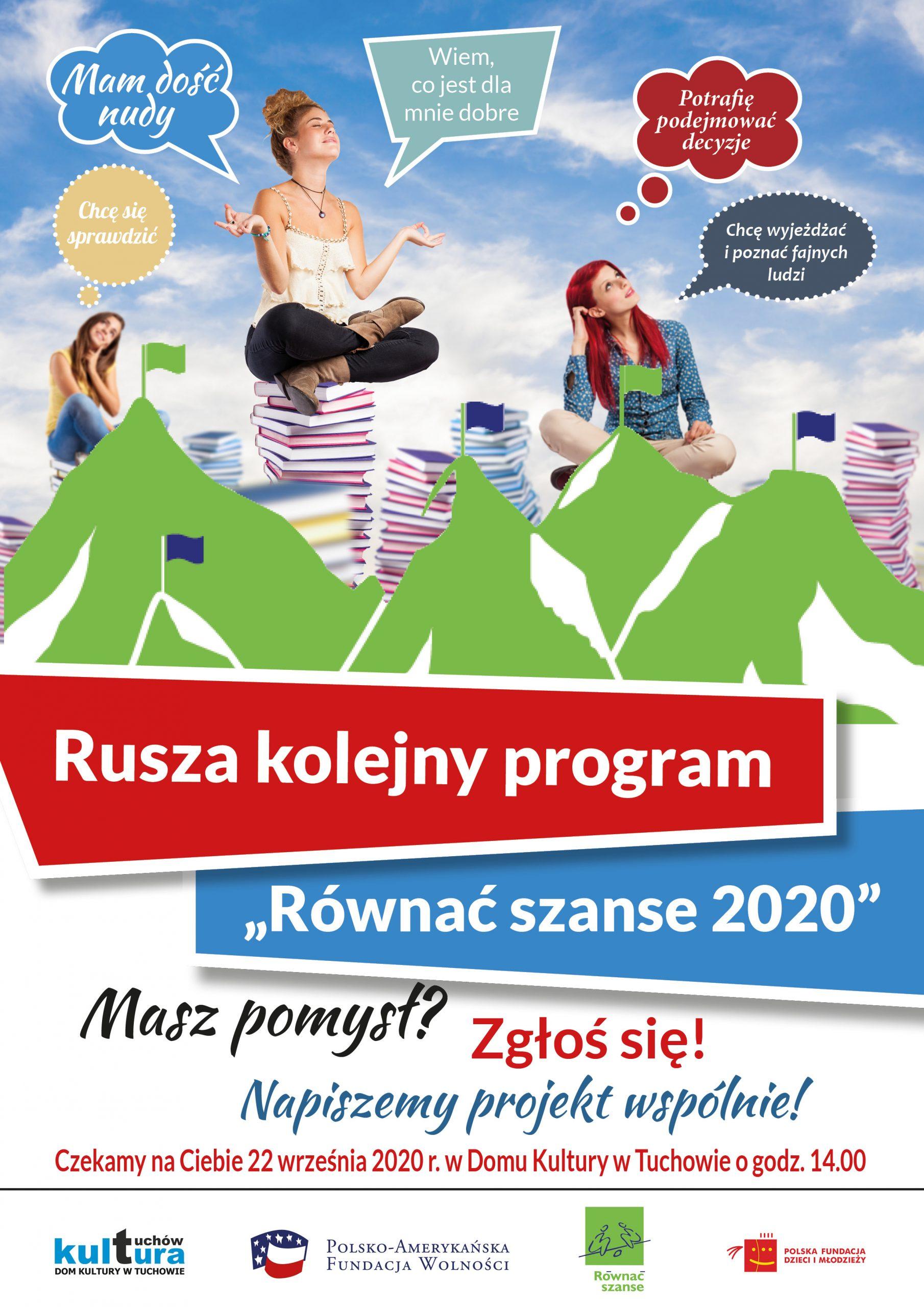 """Rusza kolejny program """"Równać szanse 2020"""""""