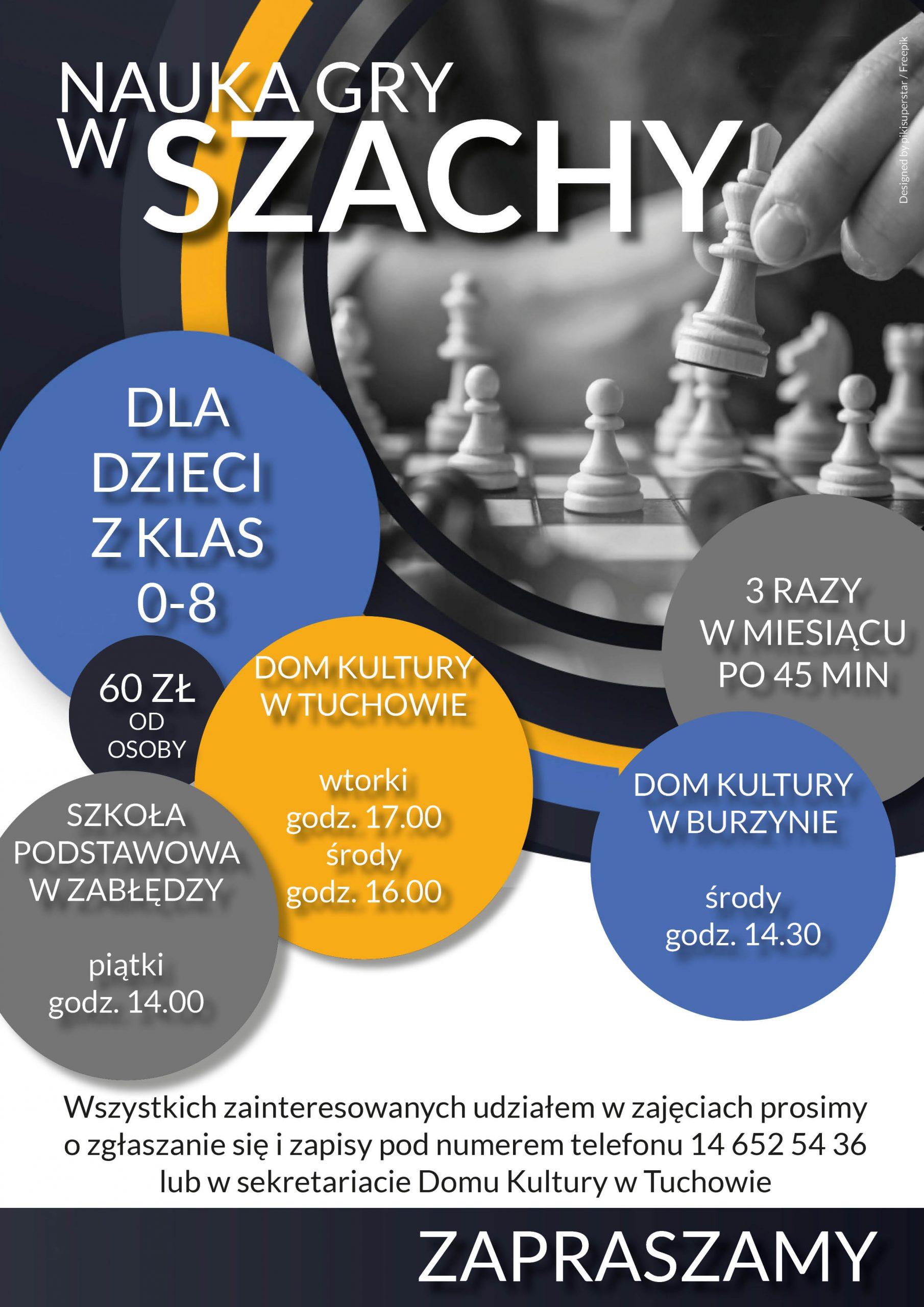 Zajęcia nauki gry w szachy
