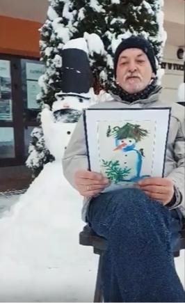 """Wiersz pt. """"Śnieg"""" czyta A. Jagoda"""