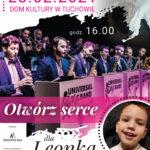 "Koncert online ""Otwórz serce dla Leonka"""