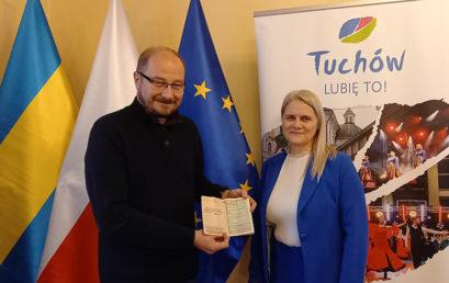 Książeczka oszczędnościowa PKO Mariana Stylińskiego w Muzeum Miejskim w Tuchowie