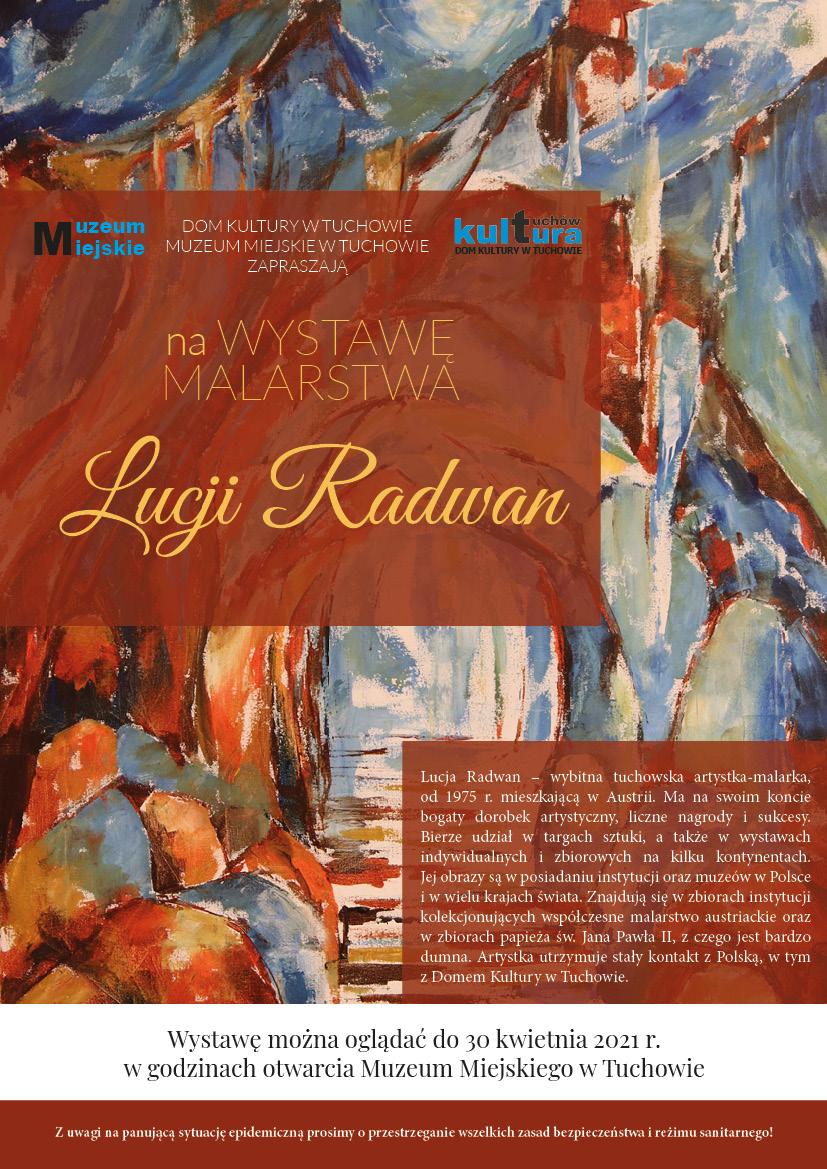 Wystawa malarstwa Lucji Radwan