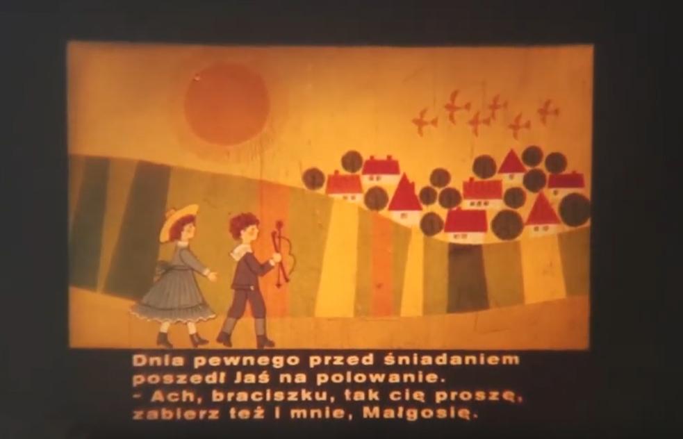 """Z cyku """"Bajki przeszłości"""" – """"Przygody Jasia i Małgosi"""""""