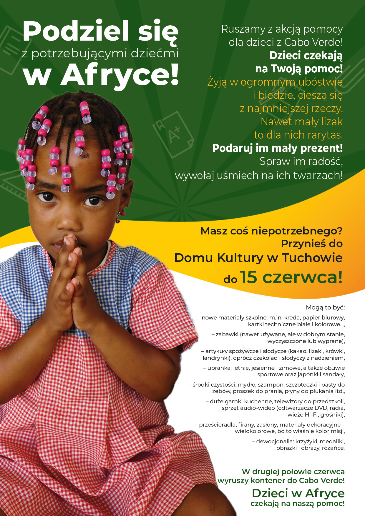 Podziel się z potrzebującymi dziećmi w Afryce!