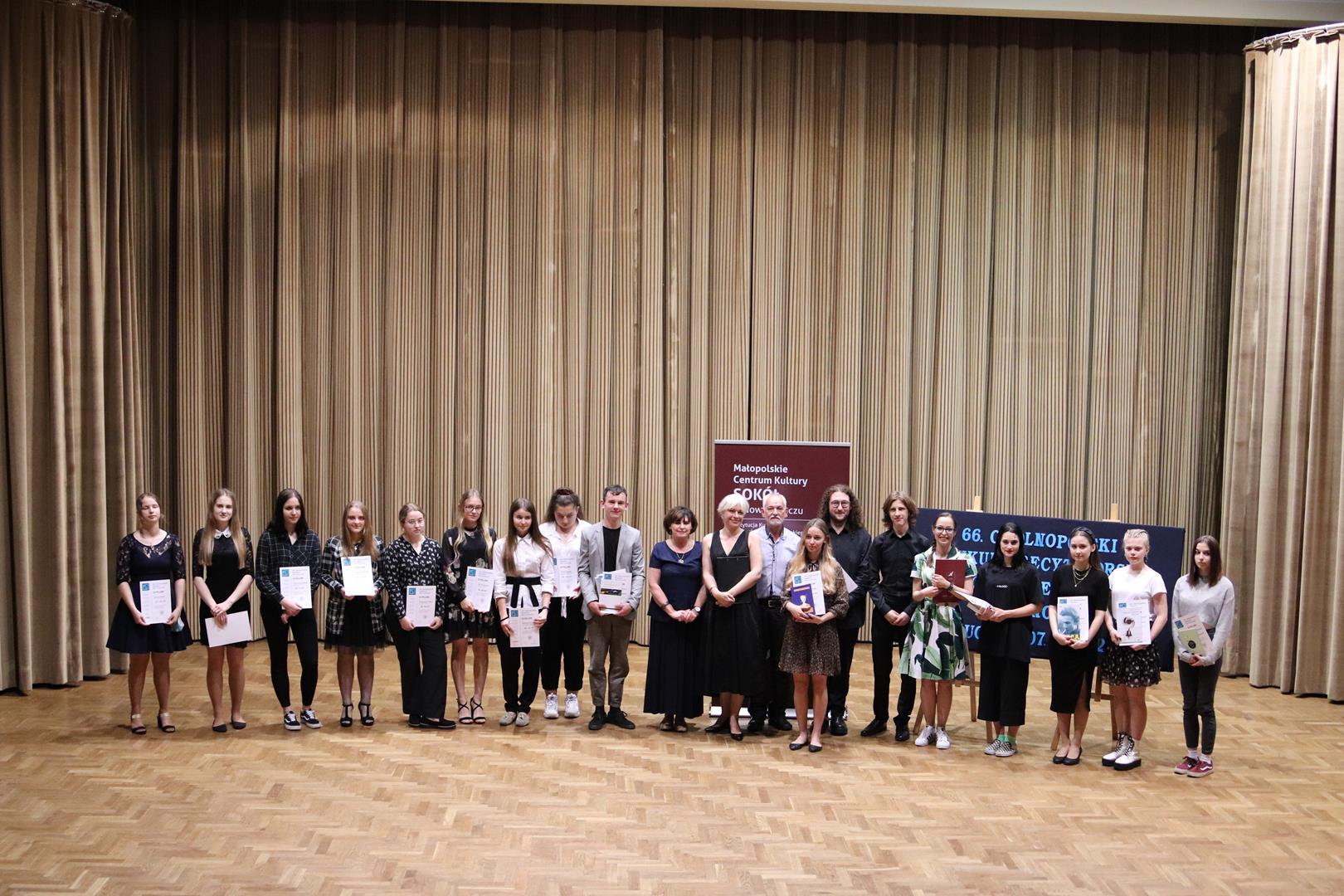 Znamy laureatów 66. Ogólnopolskiego Konkursu Recytatorskiego