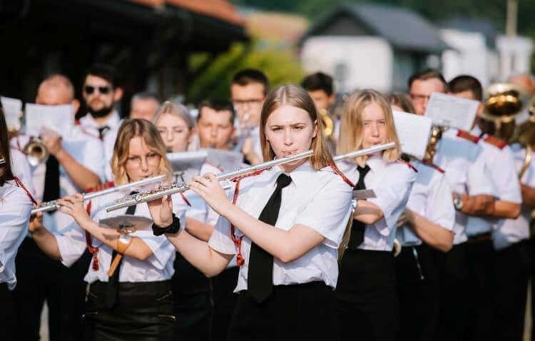 I miejsce dla Parafialnej Orkiestry Dętej z Siedlisk