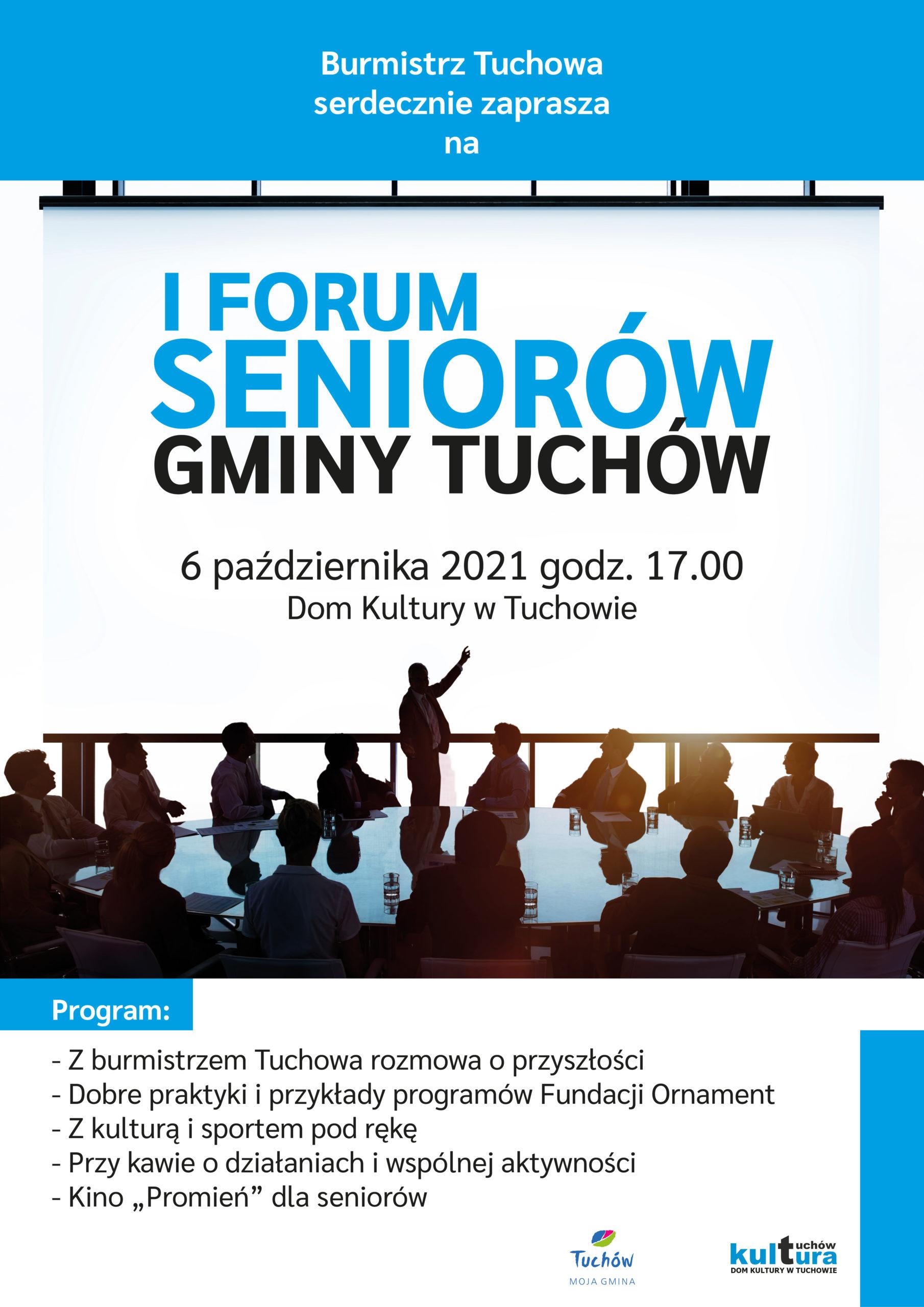 I Forum Seniorów Gminy Tuchów!