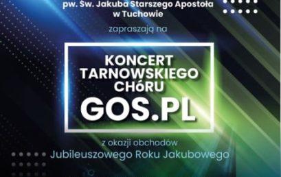 Zapraszamy na koncert Tarnowskiego Chóru GOS.PL