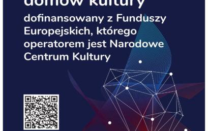 Tuchowski KulturaON – ruszamy z realizacją projektu!