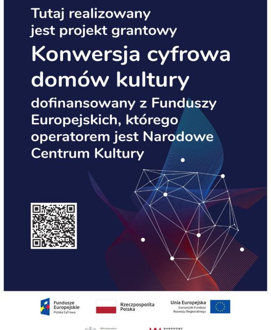Dom Kultury w Tuchowie rusza z realizacją projektu Tuchowski KulturaON!
