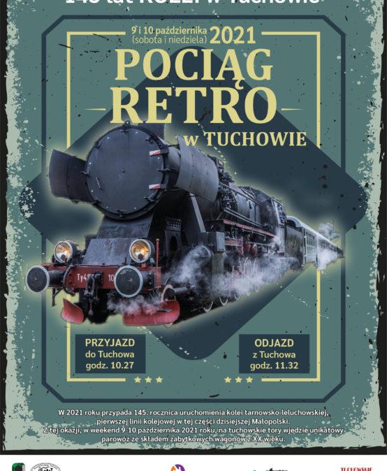 Pociąg retro w Tuchowie!